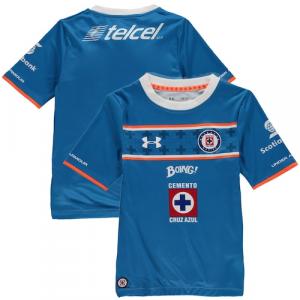 Cruz Azul Under Armour Youth Replica Home Performance Jersey - Blue