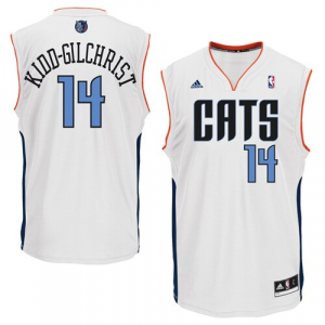 Michael Kidd-Gilchrist Charlotte Bobcats adidas Replica Home Jersey - White