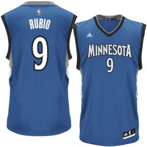 Ricky Rubio Minnesota Timberwolves adidas Replica Jersey - Royal