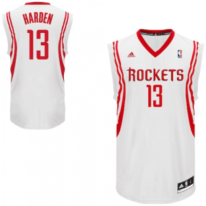 James Harden Houston Rockets adidas Replica Home Jersey - White Home