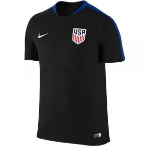 Team USA Nike Soccer Flash Training Performance Jersey - Black
