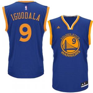 Andre Iguodala Golden State Warriors adidas Road Replica Jersey - Royal Blue