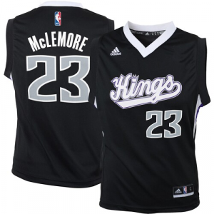 Ben McLemore Sacramento Kings adidas Youth Replica Jersey - Black
