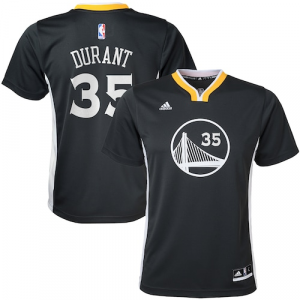 Kevin Durant Golden State Warriors adidas Youth Alternate Replica Jersey - Charcoal