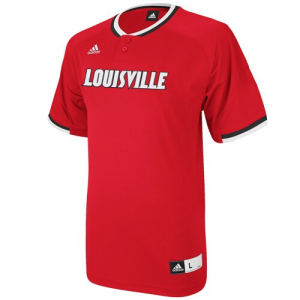 adidas Louisville Cardinals 2013 Batting Practice Jersey - Red