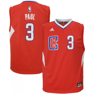 Chris Paul LA Clippers adidas Toddler Road Replica Jersey - Red