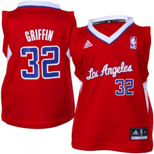 Blake Griffin LA Clippers adidas Toddler Replica Jersey - Red