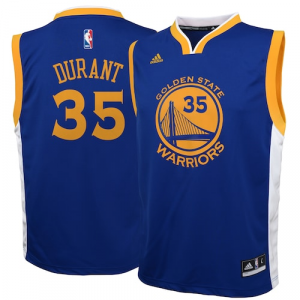 Kevin Durant Golden State Warriors adidas Toddler Road Replica Jersey - Royal
