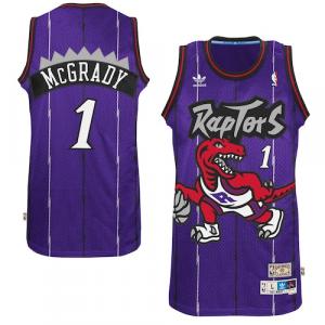 Tracy McGrady Toronto Raptors adidas Hardwood Classics Swingman Jersey - Purple