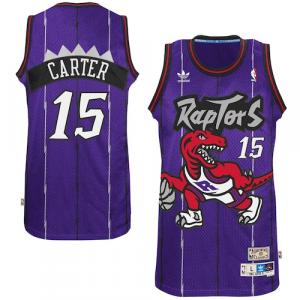Vince Carter Toronto Raptors adidas Hardwood Classics Swingman Jersey - Purple