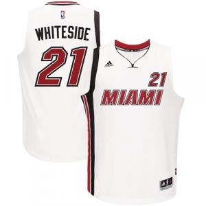 Hassan Whiteside Miami Heat adidas Alternate Swingman Jersey - White