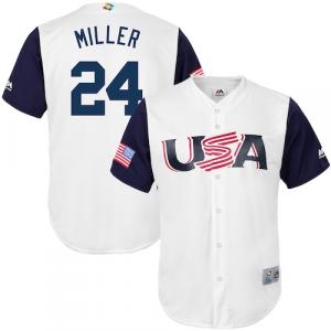 Andrew Miller USA Baseball Majestic 2017 World Baseball Classic Replica Jersey - White