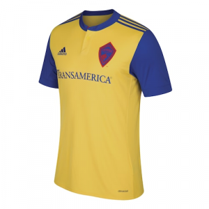 Colorado Rapids adidas 2017 Secondary Replica Team Jersey - Yellow