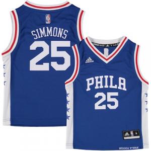 Ben Simmons Philadelphia 76ers adidas Preschool Road Replica Jersey - Royal