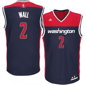 Mens adidas Washington Wizards John Wall Navy Alternate Replica Jersey