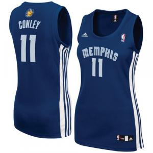 Mike Conley Memphis Grizzlies adidas Women's Road Replica Jersey - Navy