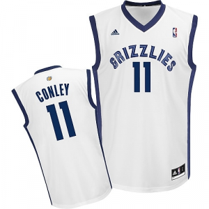 Mike Conley Memphis Grizzlies adidas Replica Home Jersey - White