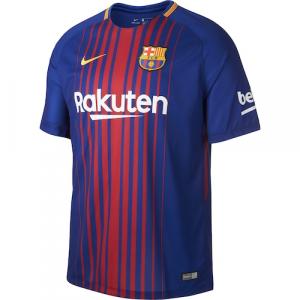 Barcelona Nike 2017/18 Home Replica Blank Jersey - Royal