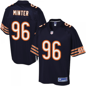 NFL Pro Line Men's Chicago Bears Zach Minter Team Color Jersey - Navy