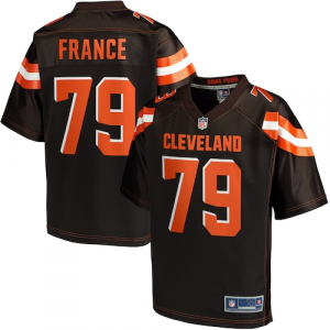 Dan France Cleveland Browns NFL Pro Line Youth Player Jersey - Brown