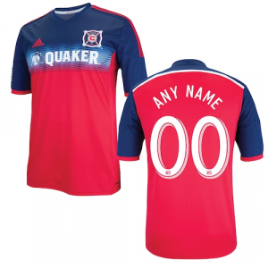 Chicago Fire SC adidas 2014 Custom Primary Replica Jersey - Red