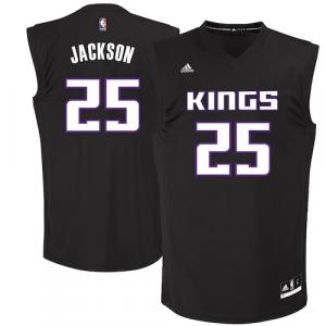 Justin Jackson Sacramento Kings adidas 2017 NBA Draft #2 Pick Replica Jersey - Black