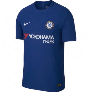 Chelsea Nike 2017/18 Home Authentic Blank Jersey - Blue
