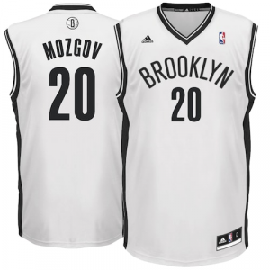 Timofey Mozgov Brooklyn Nets adidas Home Replica Jersey - White