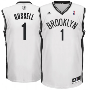 D'Angelo Russell Brooklyn Nets adidas Home Replica Jersey - White