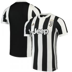 Juventus adidas 2017 Authentic Home Jersey - White/Black