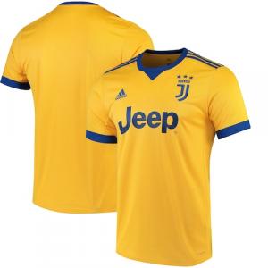 Juventus adidas 2017/18 Away Replica Jersey - Gold/Royal