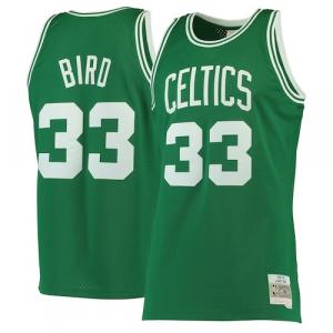 Larry Bird Boston Celtics Mitchell & Ness 1985-86 Hardwood Classics Swingman Jersey - Kelly Green
