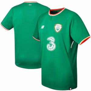 Ireland National Team New Balance 2017/18 Home Replica Jersey - Green