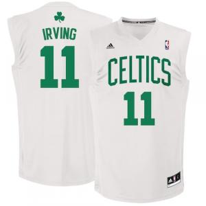 Kyrie Irving Boston Celtics adidas Replica Jersey - White Home