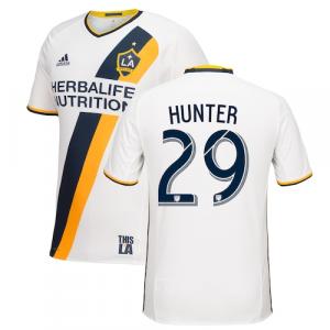 Alex Hunter LA Galaxy adidas Primary Authentic Jersey - White