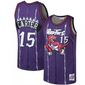 Vince Carter Toronto Raptors Mitchell & Ness 1998-99 Hardwood Classics Swingman Jersey - Purple