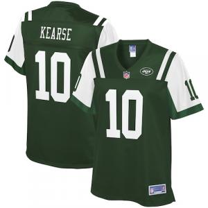 Jermaine Kearse New York Jets NFL Pro Line Women's Team Color Player Jersey - Green