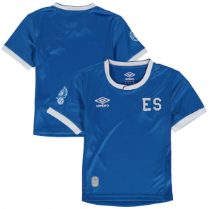 El Salvador Umbro Youth 2017/18 Home Replica Jersey - Blue