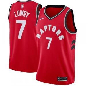 Kyle Lowry Toronto Raptors Nike Swingman Jersey Red - Icon Edition