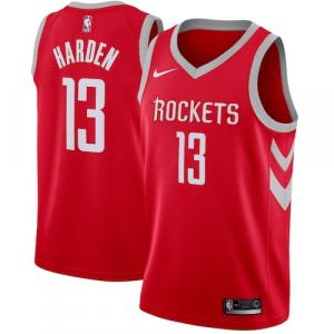 James Harden Houston Rockets Nike Swingman Jersey Red - Icon Edition
