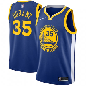 Kevin Durant Golden State Warriors Nike Swingman Jersey Blue - Icon Edition