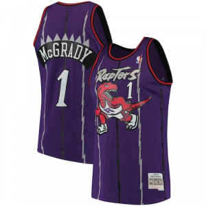 Tracy McGrady Toronto Raptors Mitchell & Ness 1998-99 Hardwood Classics Swingman Jersey - Purple