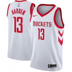 James Harden Houston Rockets Nike Swingman Jersey White - Association Edition