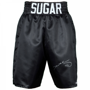 Sugar Ray Leonard Fanatics Authentic Autographed Boxing Trunks