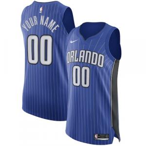 Orlando Magic Nike Authentic Custom Jersey Royal - Icon Edition