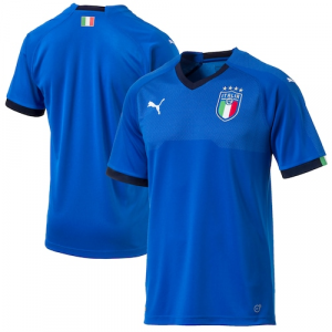Italy National Team Puma 2018 World Cup Home Jersey - Blue