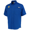 Golden State Warriors Columbia Tamiami Button-Down Shirt - Royal