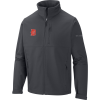 Detroit Tigers Columbia Ascender Softshell Full-Zip Jacket - Gray