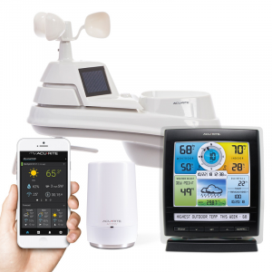 AcuRite 5-in-1 Weather Station with AcuRite Access for Remote Monitoring Was: $319.97 Now: $199.97.