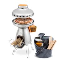 BioLite BaseCamp PizzaDome Bundle | Complete Portable Pizza Oven